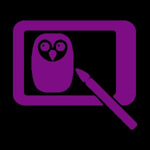Icône Design violet