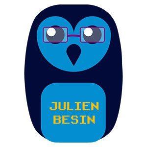 Logo de Julien Besin, spécialiste en communication, webdesign et rédaction