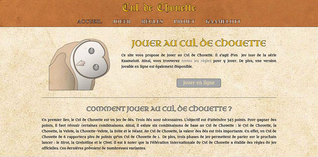 Site web Cul de Chouette